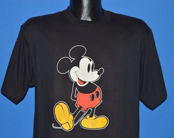 80s Mickey Mouse Disney t-shirt Large