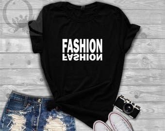 Fashion  Slogan  T Shirt Women Unisex Tee.  Bella & Canvas