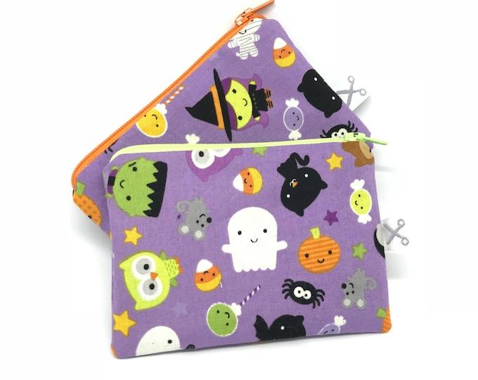 Mini zipper pouch Halloween
