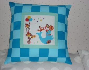 "Pillow cover ""circus see colours N ° 2"""