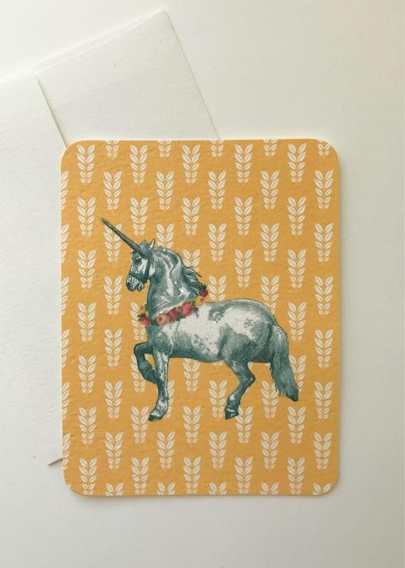Magical Unicorn Card