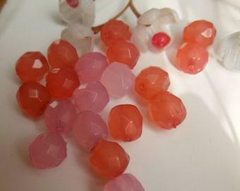 set of 15 plastic beads