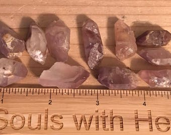 Lithium Natural Quartz Crystal Tiny Point,Spiritual Stone, Healing Stone, Healing Crystal, Chakra