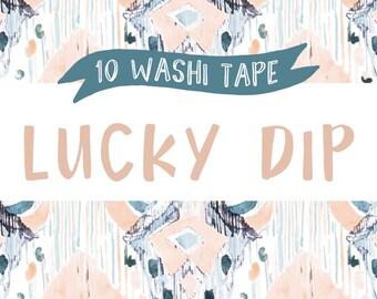 10 Washi Tape Lucky Dip - Sale Washi Tape - Washi Tpe Grab Bag