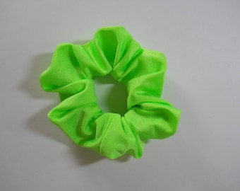 Scrunchie Bright Lime Green