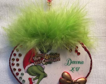 Grinch Who Stole Christmas holiday ornament