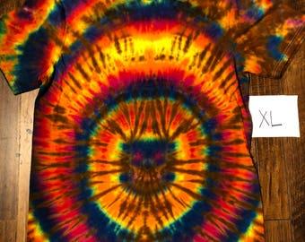 X Large tie-dye tee #202