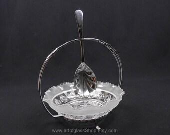 Davidson Glass serving dessert bowl