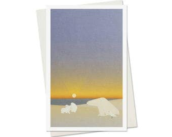 93 / card / polar bear