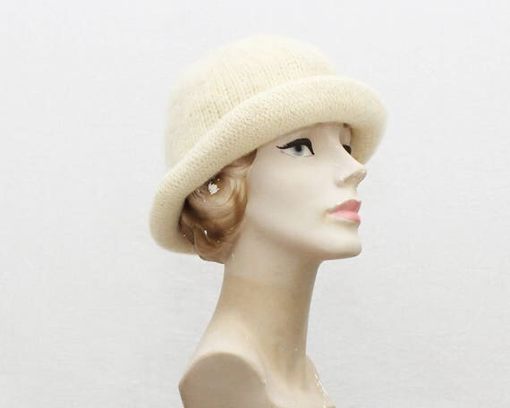 Vintage 1980s Christian Dior Knit Hat