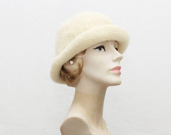 Vintage 1980s Christian Dior Knit Hat