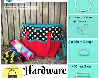 Summer Lovin' Beach Tote – Andrie Designs - Hardware Kit