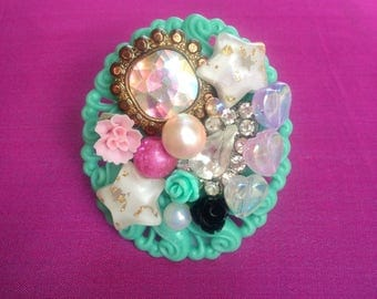 It's in the Stars Kawaii Statement Ring, sweet lolita, fairy kei, gyaru, girly, chunky, Harajuku, bedazzled, bejeweled