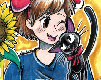 Original Kiki's Delivery Service Art
