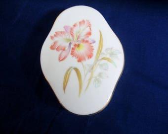 Iris Trinket Box Peachy Pink Made in Japan