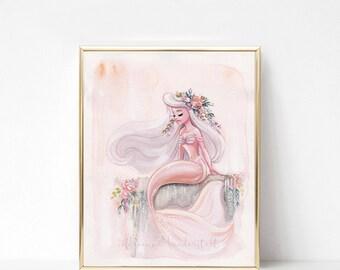 Peach Mermaid