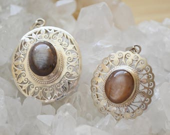 Beautiful Sunstone Pendant