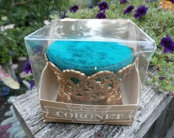 Vintage Coronet Pin Cushion Made in Hong Kong