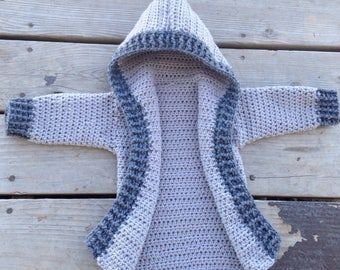 Baby jacket, crochet jacket, toddler jacket, winter coat, winter jacket, crochet winter coat, baby coat, kid coat