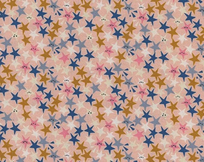 Pre-Sale- Star Struck in Peachy -Paper Cuts -Rashida Coleman-Hale for Cotton + Steel