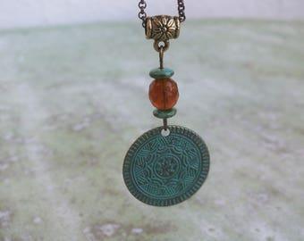 Boho Layering Necklace, Bohemian layered charm necklace, Hippie boho necklace, Festival necklace