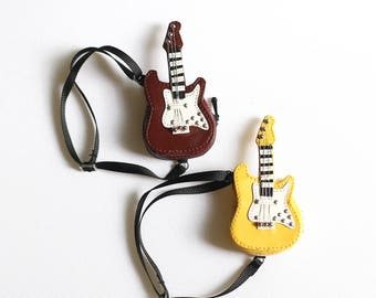 Leather Guitar for dolls.