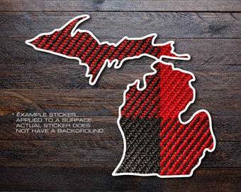 Michigan Mitten Vinyl Decal Sticker A23