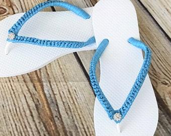 Bridal Flip Flops. Wedding Flip Flops. Wedding Flip Flops. Beach Slippers. Beach Wedding. Bride Flip Flop. Bride Flip Flops.
