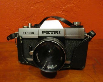Petri FT 1000 SLR 35mm Film Camera