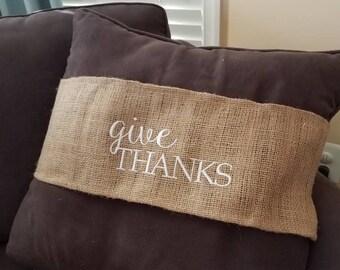 Seasonal Pillow Wrap