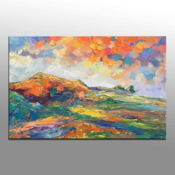 Abstract Painting Large Art Extra Large Wall Art Oil