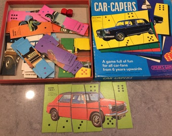 Spears Games UK CAR CAPERS Card Game with Dice Complete