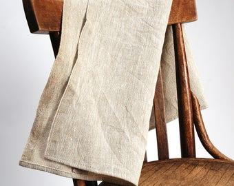 Natural Grey Burlap Rustic Linen Massage/Hand Towel hanging Rustic Linen Massage/foot Towels  Linen Massage/hand Towels Washed Linen Towels
