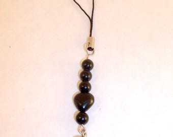 Jewelry, mobile in Pearls and heart of Onyx.