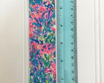 "Fan Sea Pants1.5""  inspired grosgrain ribbon Lilly Pulitzer"