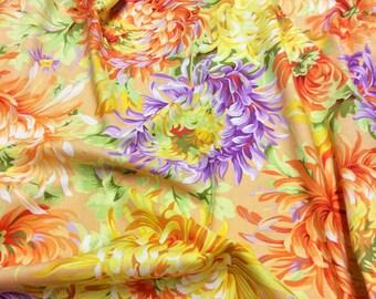 Philip Jacobs Kaffe Fassett Collective Shaggy PWPJ072 Yellow Free Spirit Fabric
