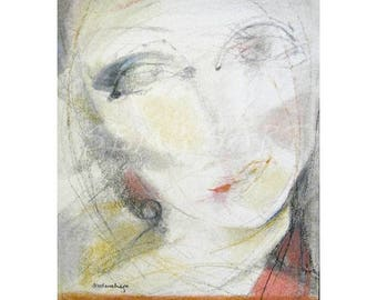 Venus    -  pastell and mixed media Art