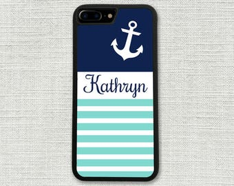 Anchor iPhone 6 Plus Case, iPhone 7 Case, Nautical iPhone 6S, iPhone Accessory, Gift for Her, iPhone 6S case, iPhone Case 1153