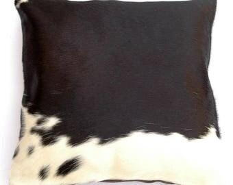 Natural Cowhide Luxurious Hair On Cushion/ Pillow Cover (15''x 15'') A41