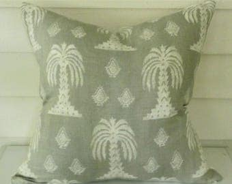 Mandalay Pillow Cover in Mist