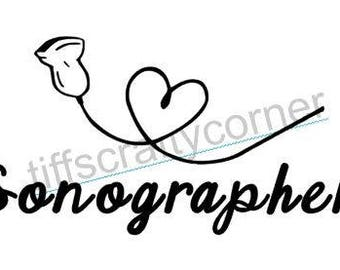 Ultrasound Decal-Sonographer