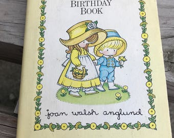 Vintage A Birthday Book By Joan Walsh Anglund Hardcover 1975 Book