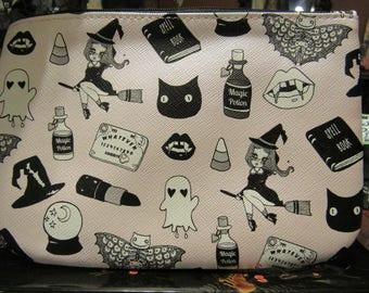 Pink Gothic Novelty Make Up Bag