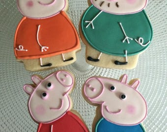PEPPA PIG FAMILY Cookies