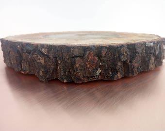 "9-10 ""rustic rustic cake pie cake tree slice of tree"