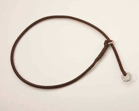 How To Make Braided Leather Dog Show Leads