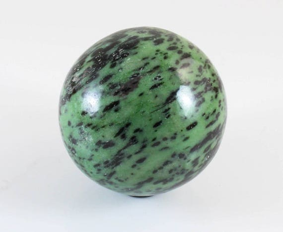 Zoisite and Ruby Sphere, M-581