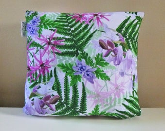 British Floral Cushion Cover