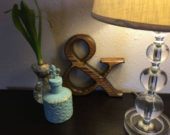 Birthday Gifts for Her/Mothers Day Gift/Mothers BirtdayAmpersand Wood/Ampersand Sign/Ampersand/Ampersand Decor
