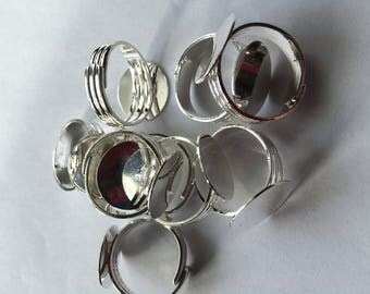 support Adjustable ring on finger size
